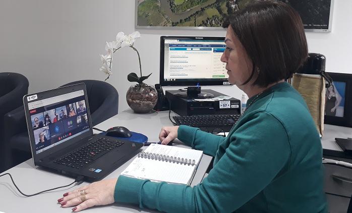 Sandra participa de aprovação das novas flexibilizações nas atividades econômicas e sociais