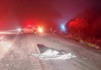 Homem morre atropelado em Pinhal Santo Antônio